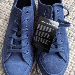 Women's suede Converse Chuck Taylors, size 7.5.
